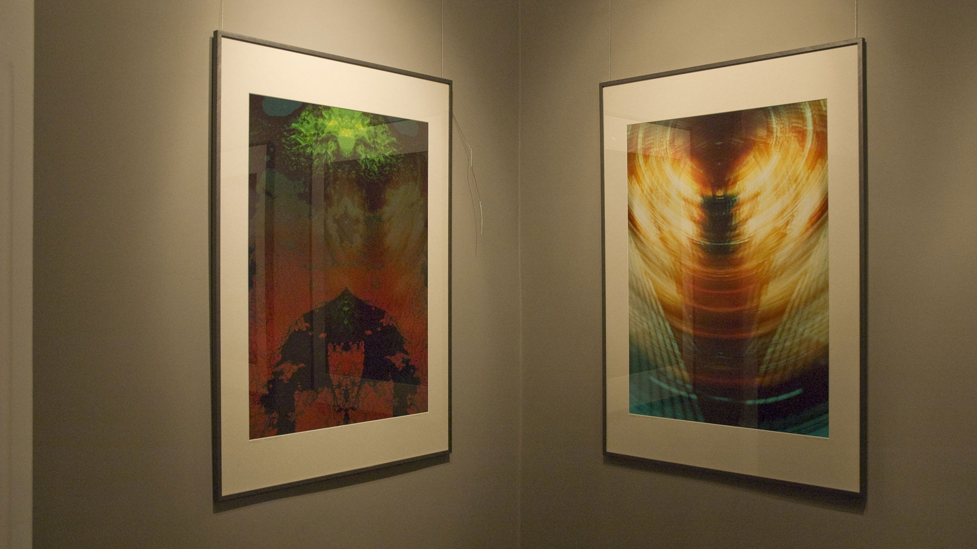 Digital painting an exhibition V