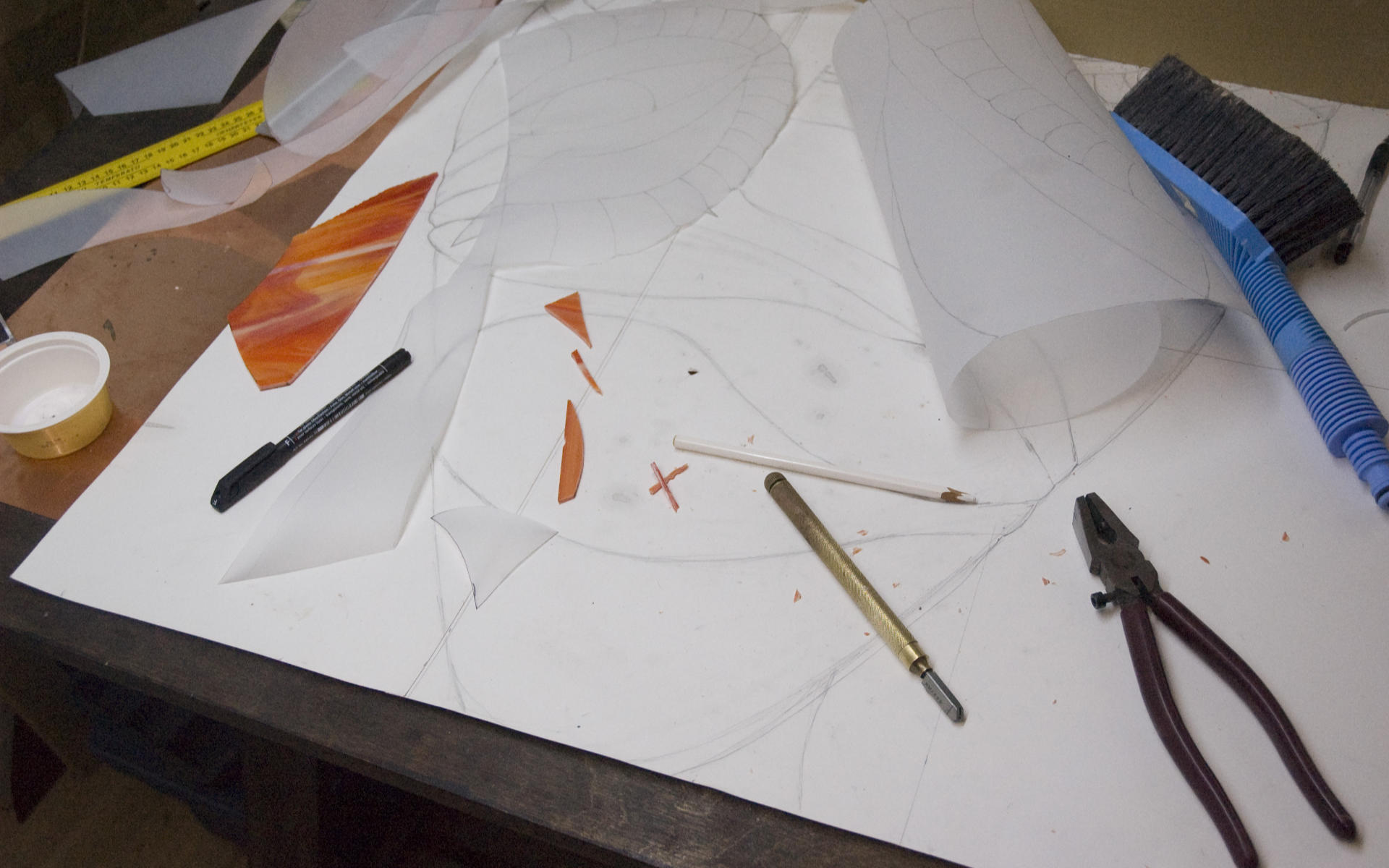 Stained glass - the process
